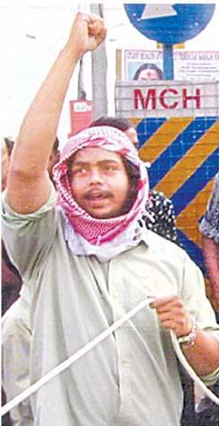 Wiqar Ahmad's old photograph